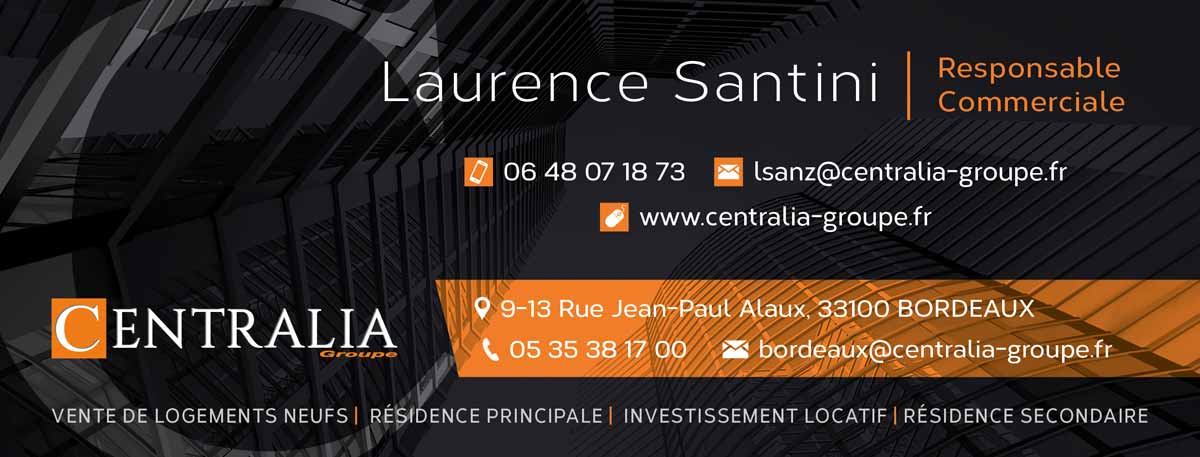 communication institutionnelle design graphique signature email groupe immobilier neuf