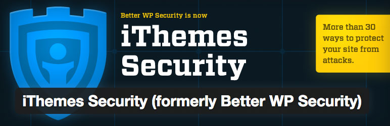 ithemes security plugin securite wordpress pour proteger site internet